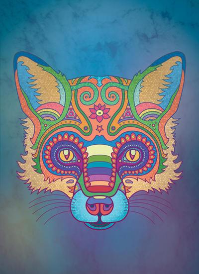 Illustration : The Mystic Fox by StoneDragonWorkshop