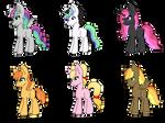 NG Pony Adopts {OPEN}