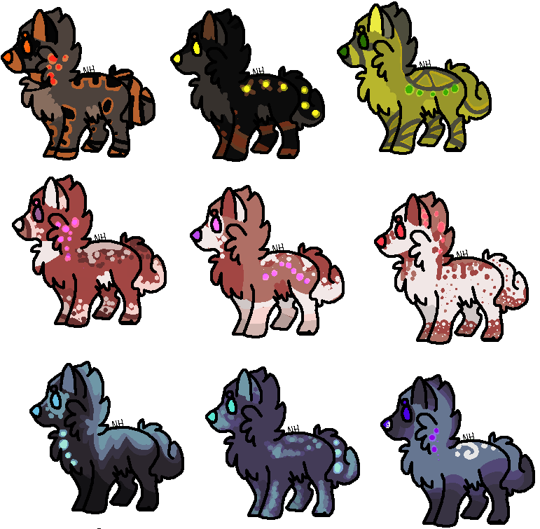 Adoptables 8 // CLOSED by SickAede