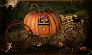 Cinderella's carriage..closer