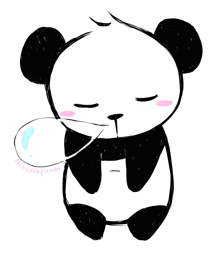Line Art Corel Draw : Sleeping panda by chibilittlepanda on deviantart