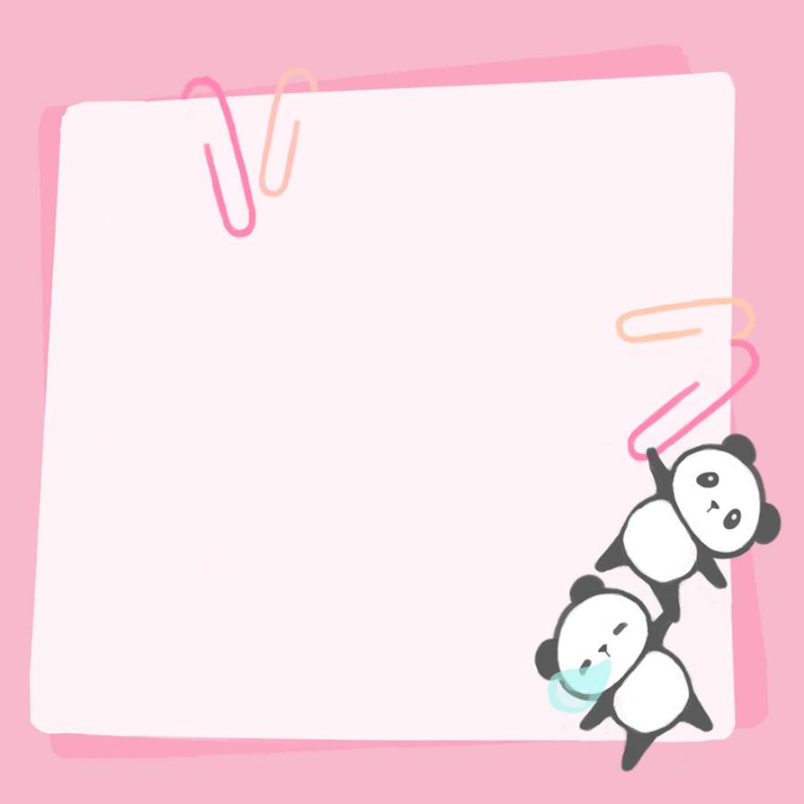Notepad Page 3 by ChibiLittlePanda