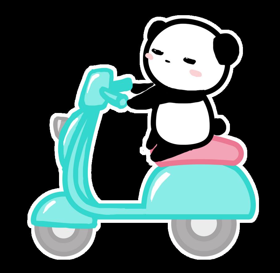 Scooter by ChibiLittlePanda