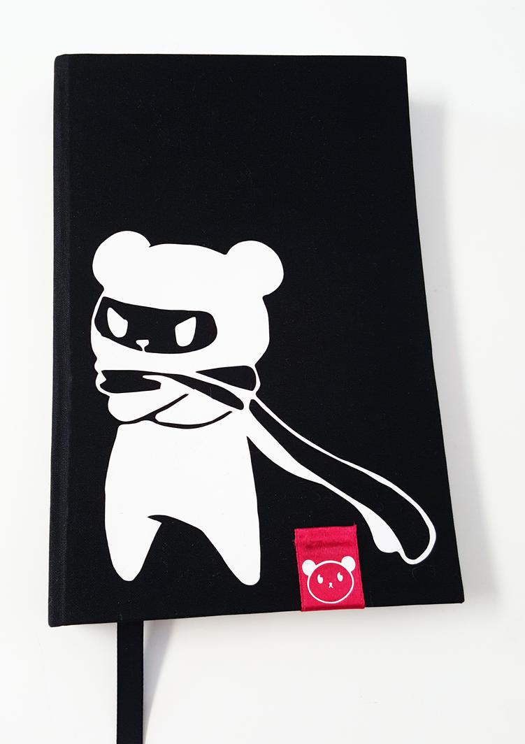 Ninja Panda Sketchbook by ChibiLittlePanda
