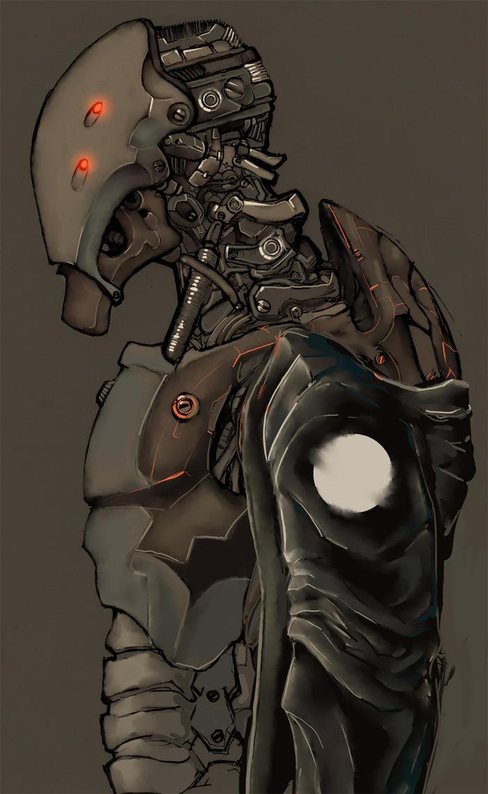 cyborg AXIII by Marlock