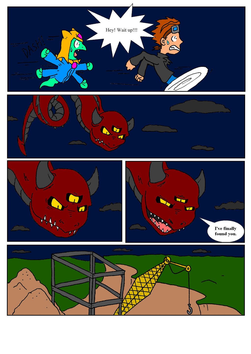Dragon Teens vol 1 page 36 color edition by DragonTeens