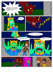 Dragon Teens vol 1 page 45 color edition by DragonTeens