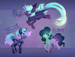 MLP adoptable auction - space ponies! (CLOSED)