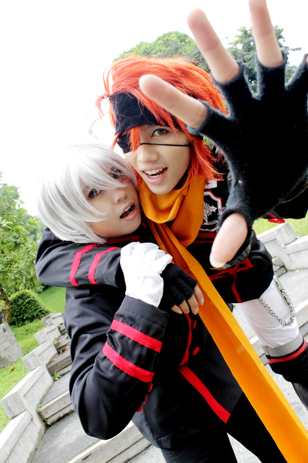 D.Gray Man: Allen and lavi by kazuhyun