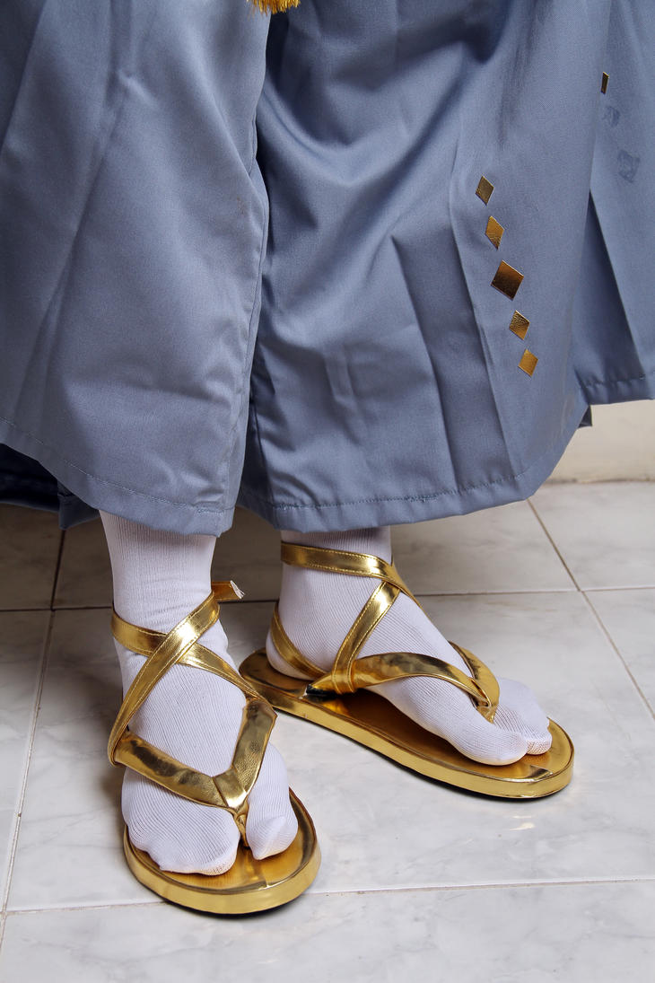 Touken Ranbu : Munechika Detail Costume 5 by kazuhyun