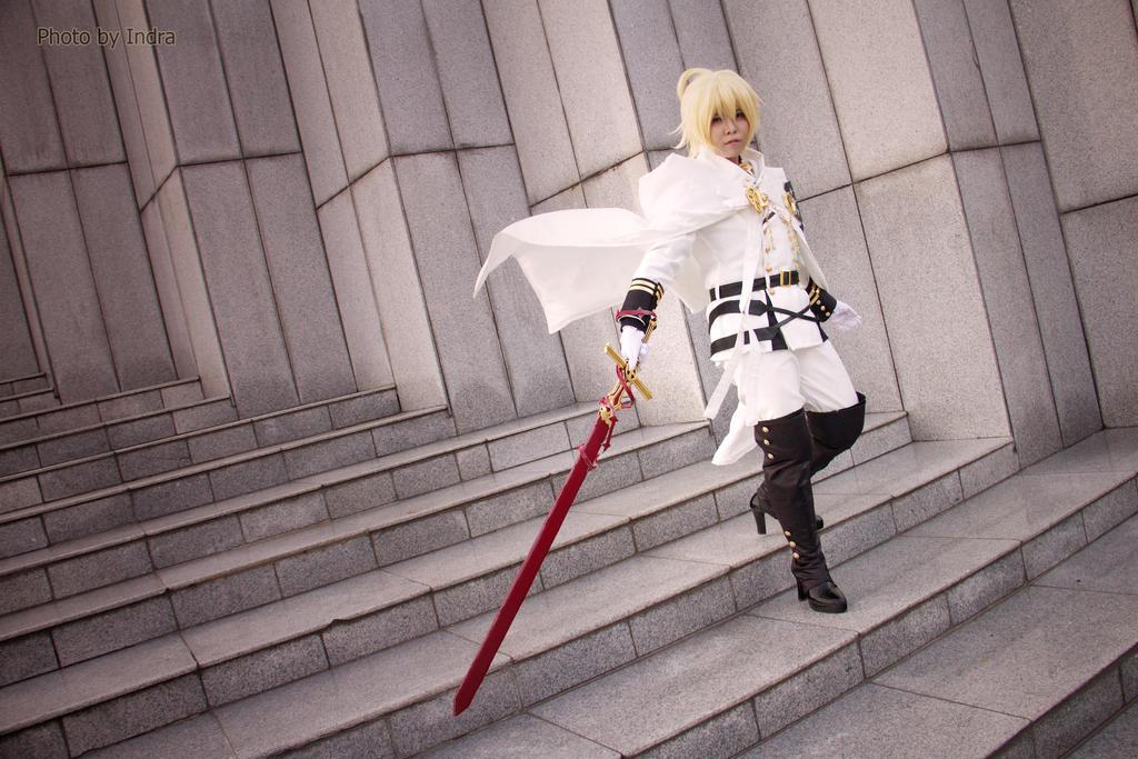 Vampire Mikaela by kazuhyun