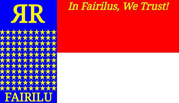 Flag of Fairilucon (April 10, 2017 - Present) by stick-the-badger