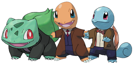 Choose Your Starter... by Petertwnsnd