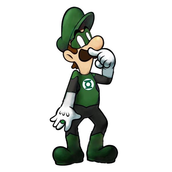 Luigi Lantern by Petertwnsnd