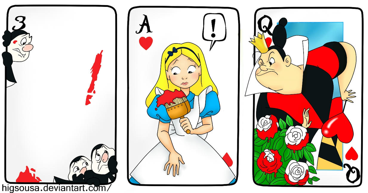 Alice and the Roses.. by HigSousa