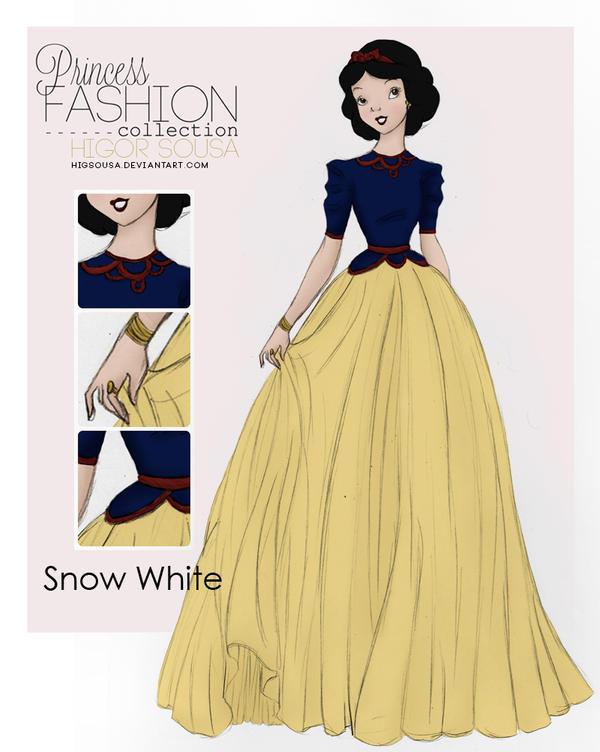 Princess Fashion Collection - Snow White by HigSousa