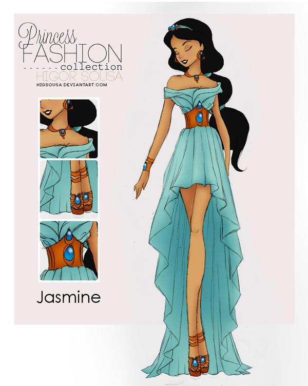 Princess Fashion Collection - Jasmine by HigSousa