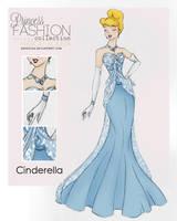 Princess Fashion Collection - Cinderella by HigSousa