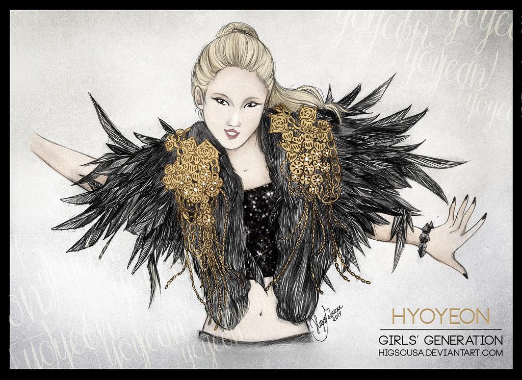 Hyoyeon - MAXSTEP by HigSousa