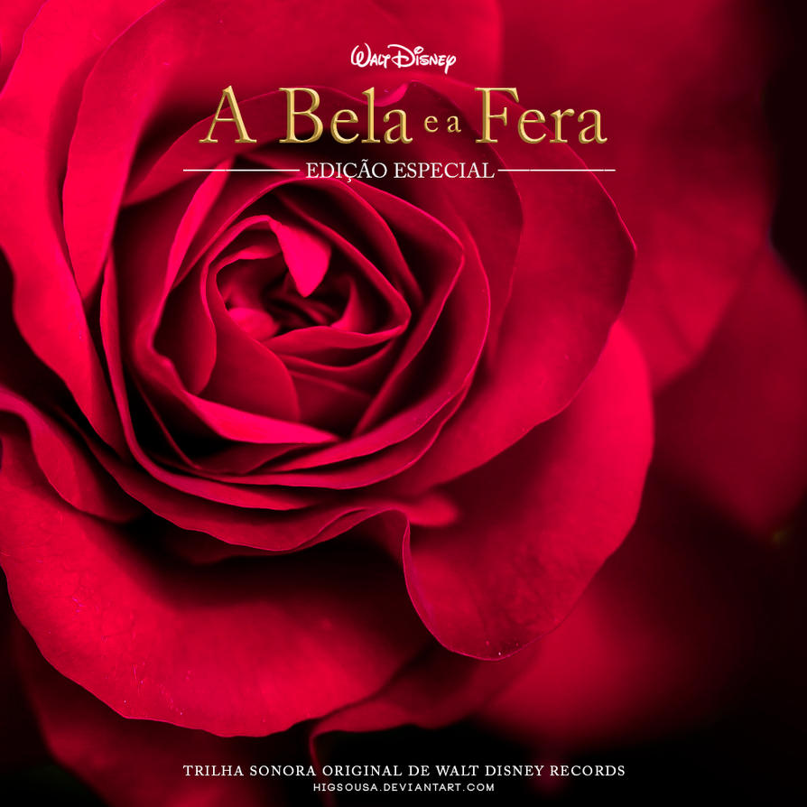 Beauty And The Beast Original Motion Picture Soundtrack: CD Cover By HigSousa On DeviantArt