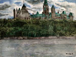 Parliament Hill from the Ottawa River