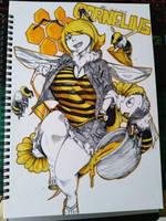Cornelius The Narcissistic Queen Bee by FionaMirai