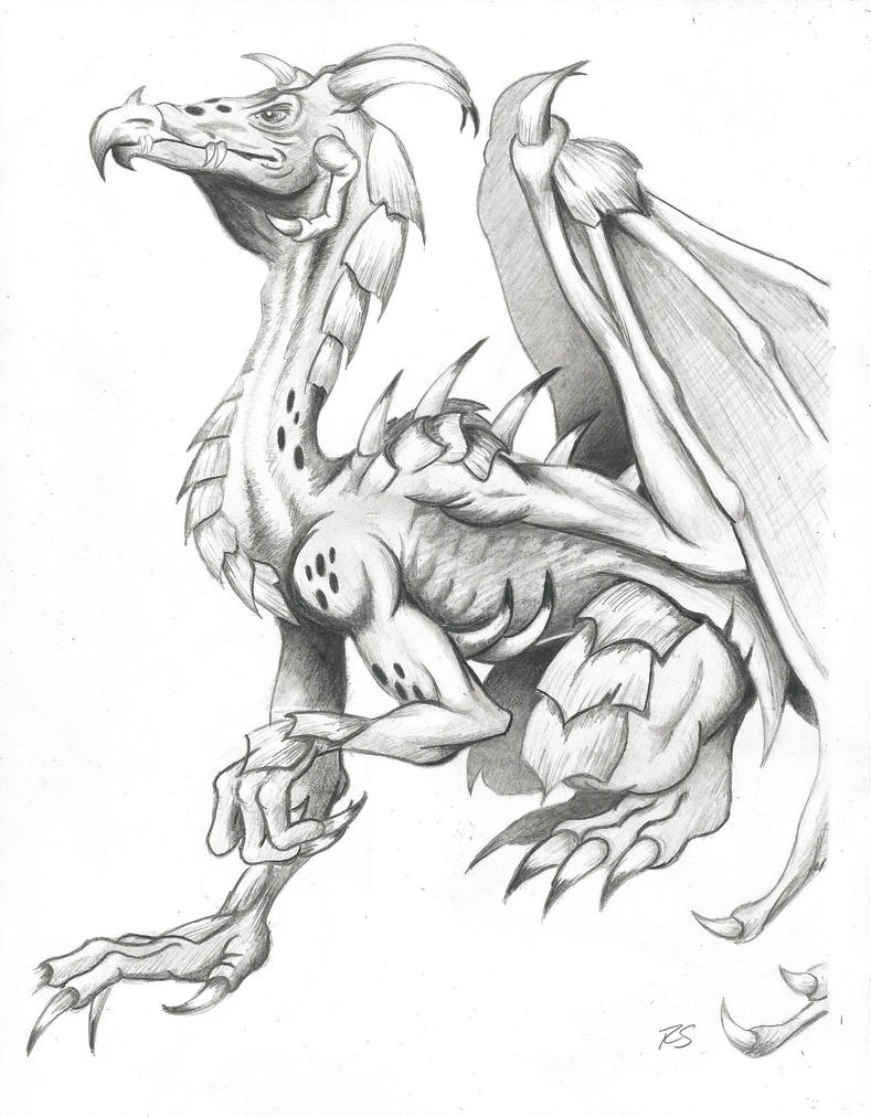 Medieval Dragon By Rshaw87 On Deviantart