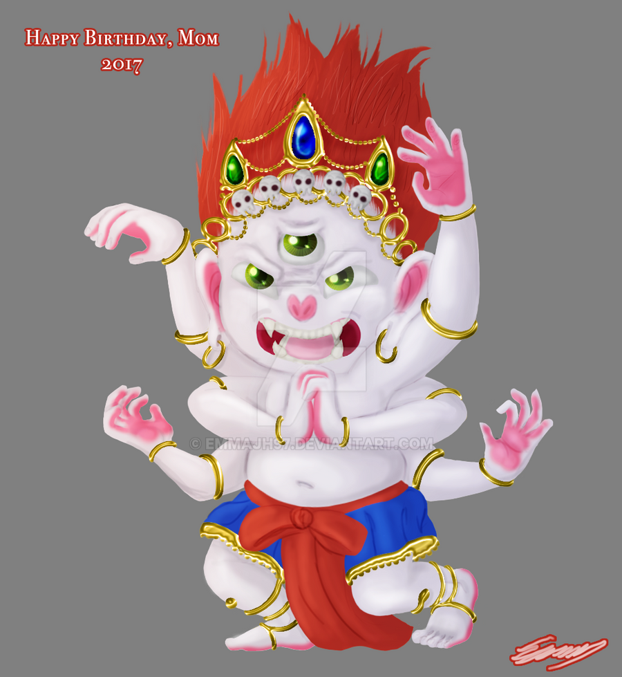 Mini Mahakala [WIP] By Emmajh97 On DeviantArt