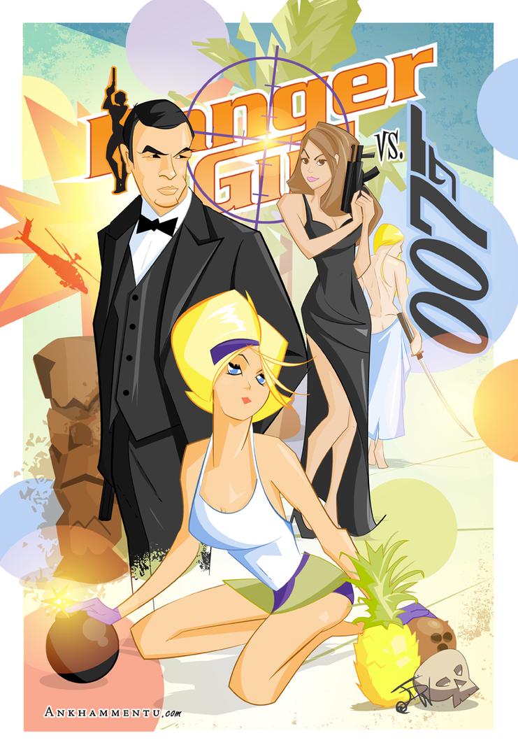 Danger Girl vs. 007 by jwebster45206