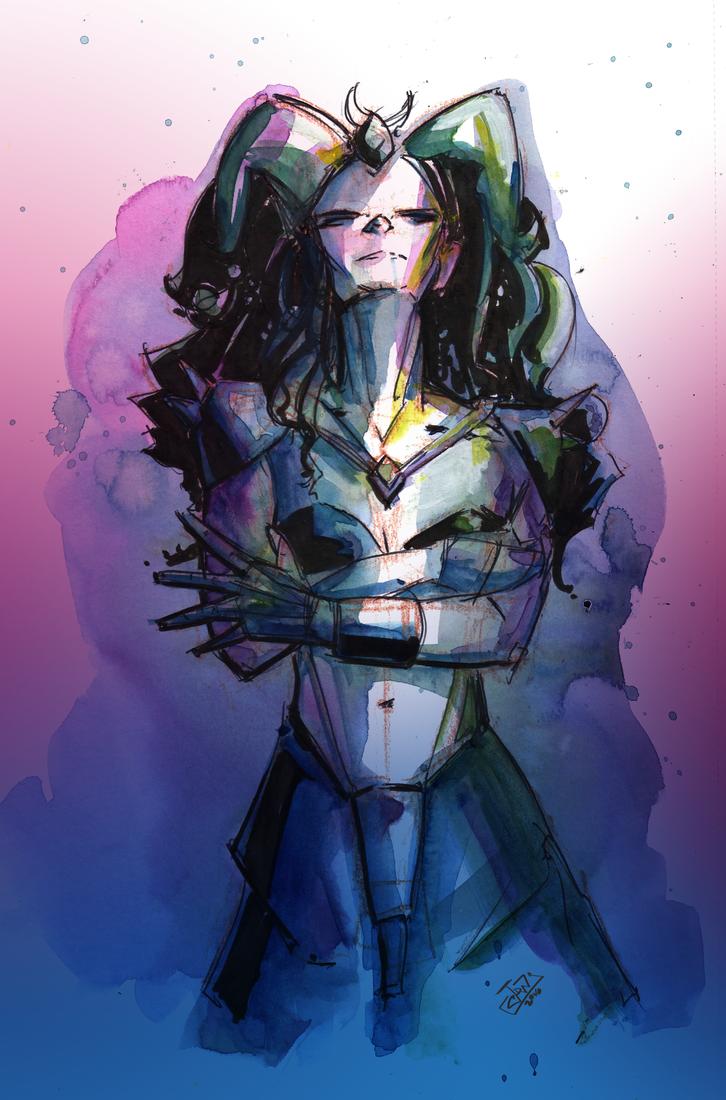 Demonic by jwebsterart