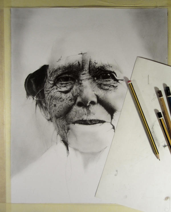 Pencil DRAWING #1 by MirzaBecukic