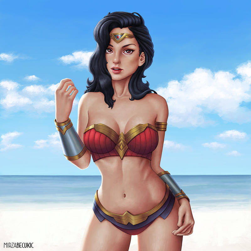 Wonder Woman by MirzaBecukic