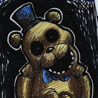 Day 16: Golden Freddy by InsanelyADD