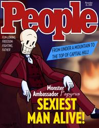 Ambassador Papyrus: Sexiest Man Alive by InsanelyADD