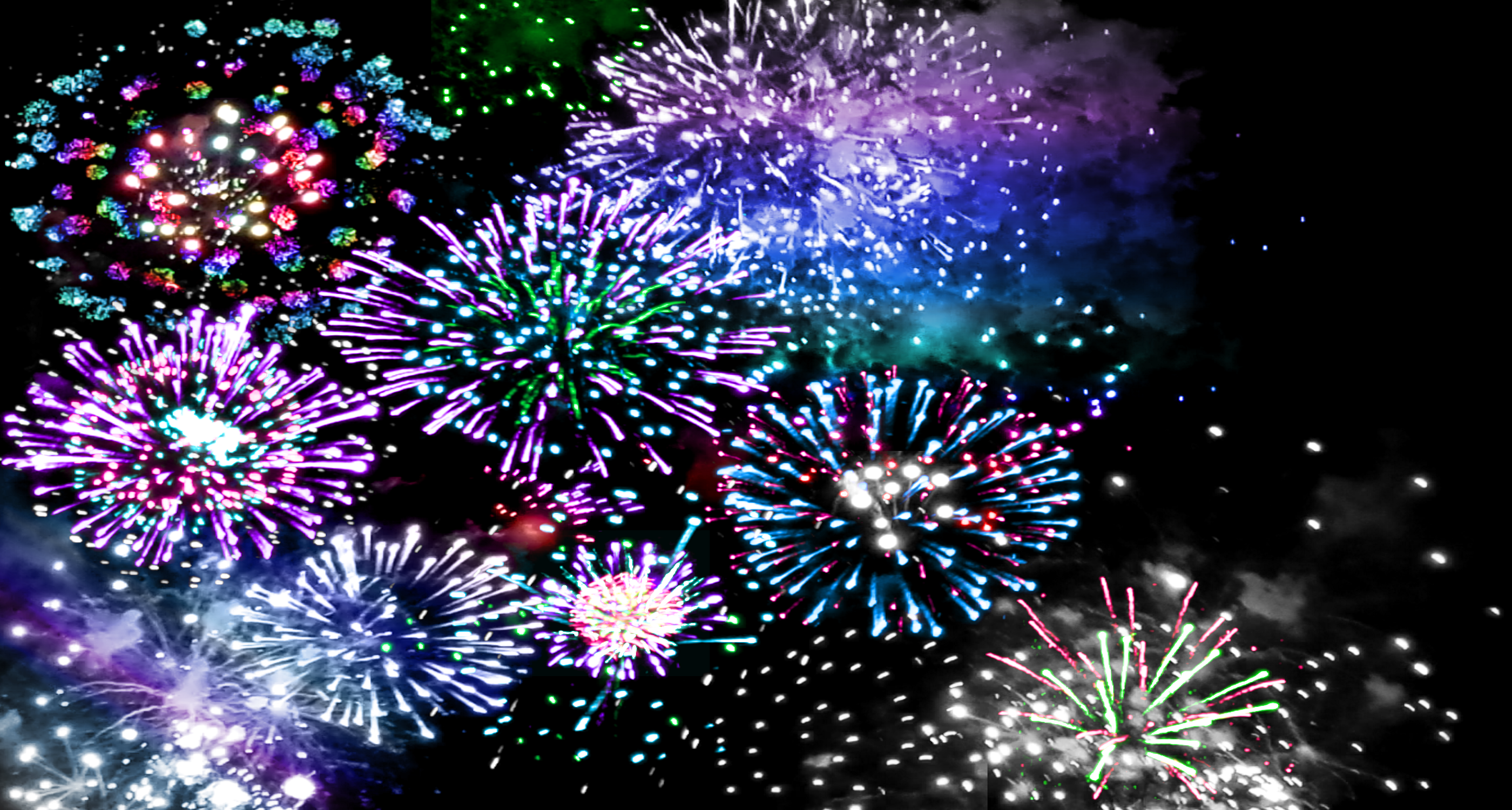 4th of July Fireworks Wallpaper by 5h3113y on DeviantArt