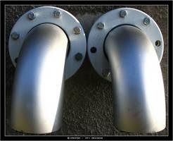 two tubes stock by Nanfen