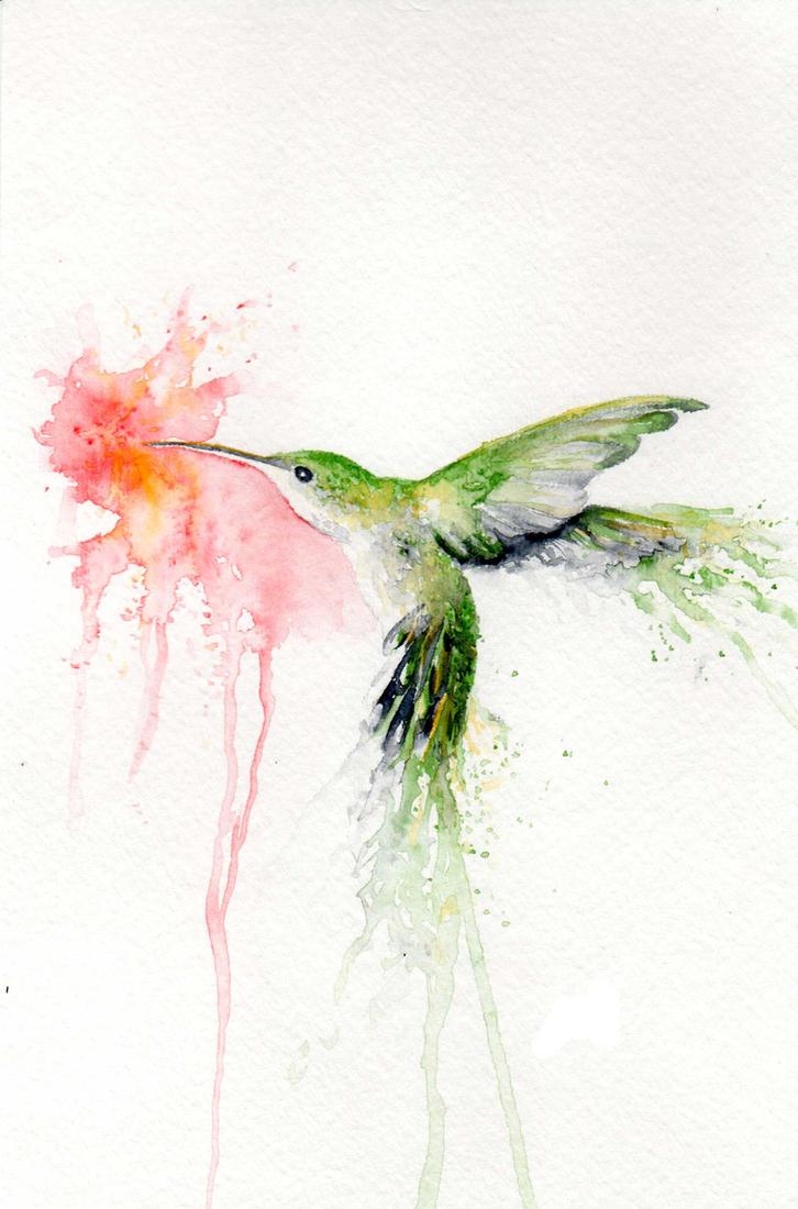 Hummingburst Green by bcduncan