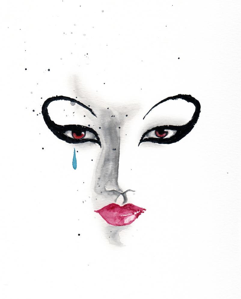 rorschach mask wallpaper