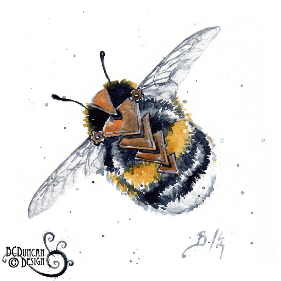 Clockwork Bee XVI by bcduncan