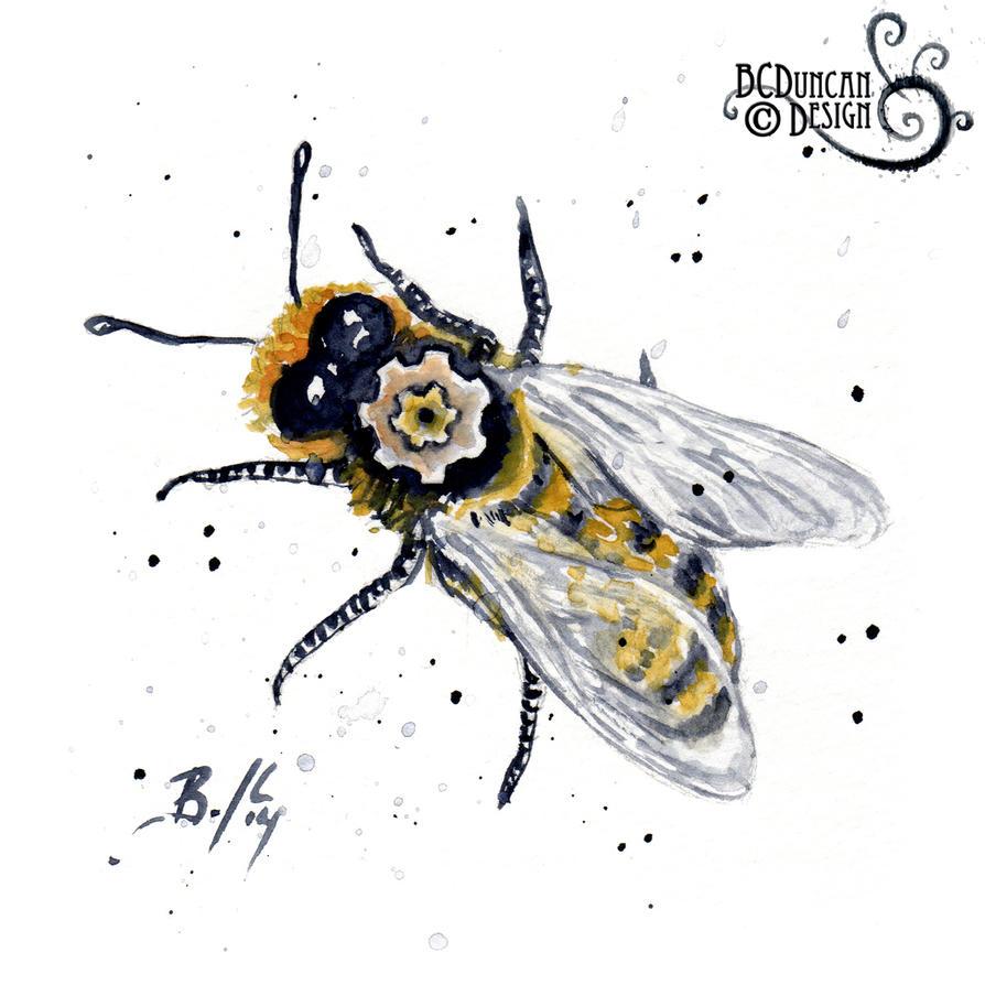 Clockwork Bee XVII by bcduncan