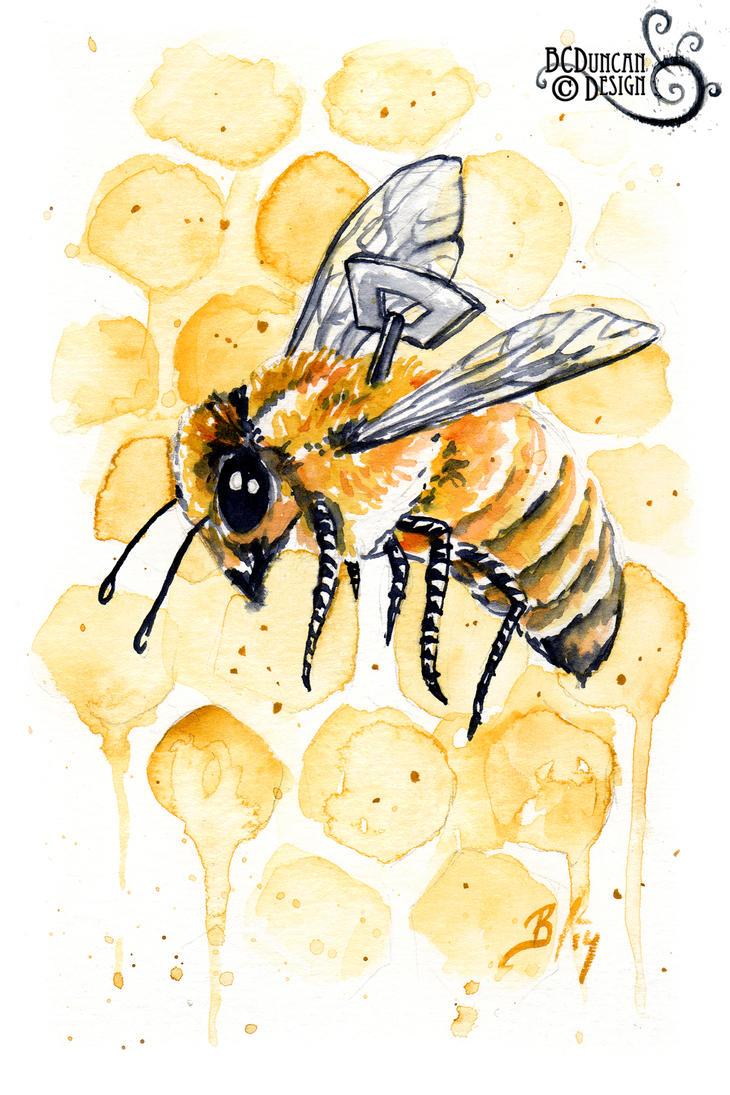Clockwork Bee XVIII by bcduncan