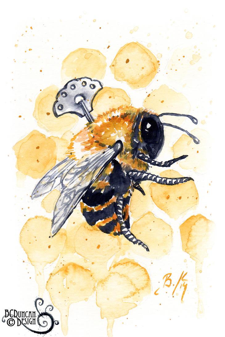 Clockwork Bee XIX by bcduncan