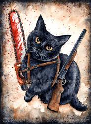 Zombie Killer Kitten