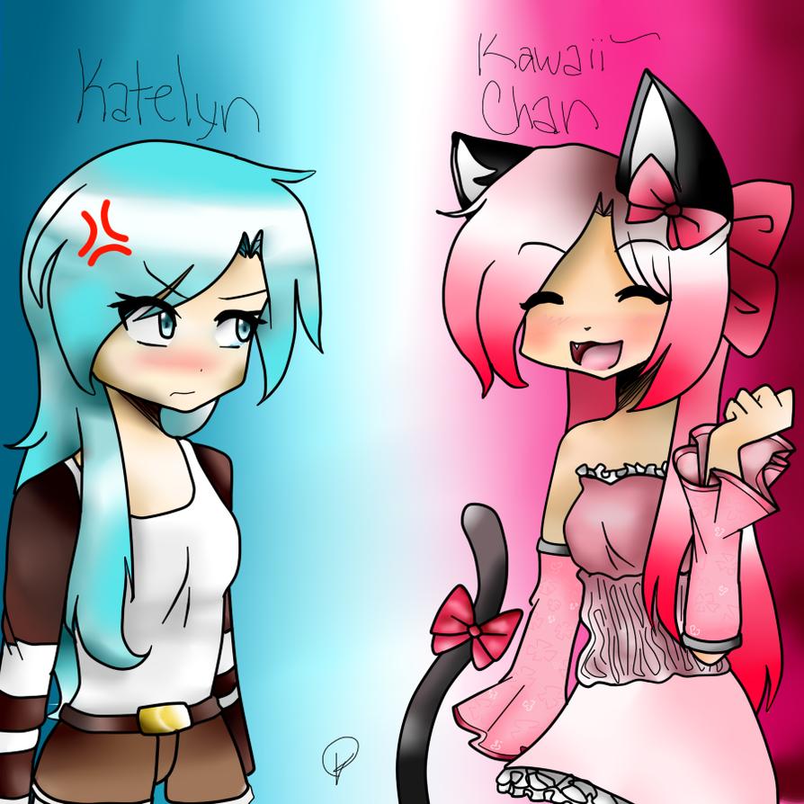 Katelyn and Kawaii~Chan | KattPham by KattPham on DeviantArt