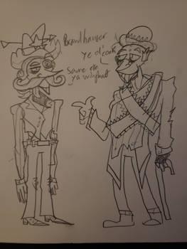 Humanized Brawlhauser and Linhowser
