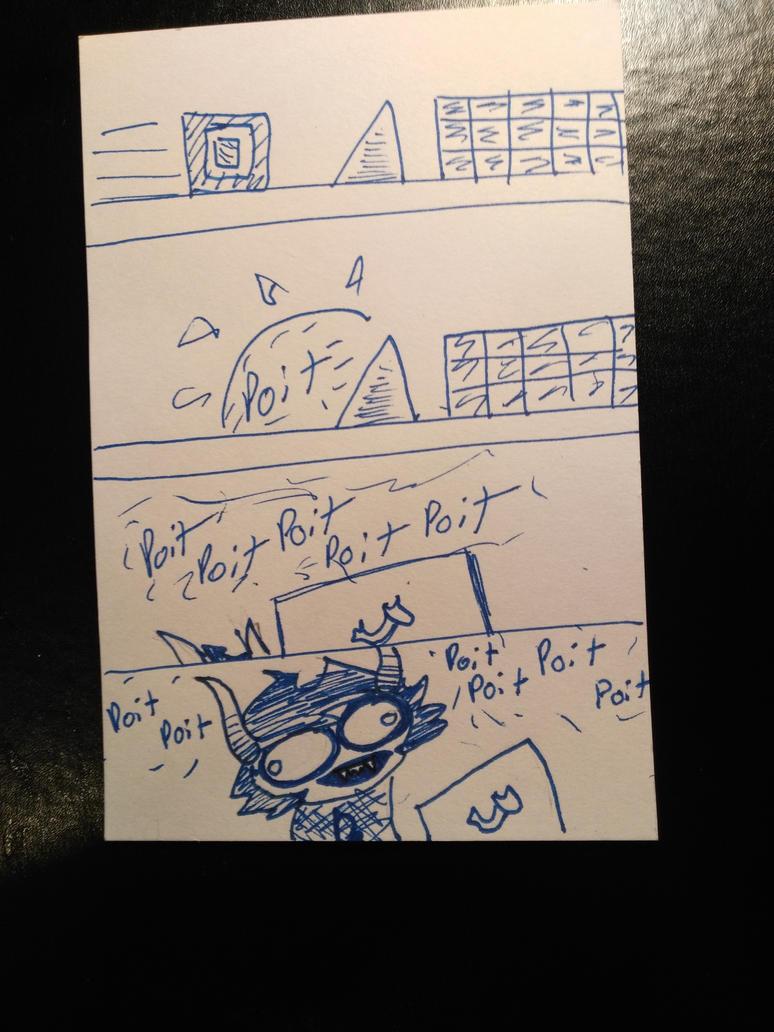 Gamzee plays Geometry Dash by expellingsecrets