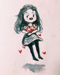 HAPPY VALENTINE'S DAY by angelayiliu