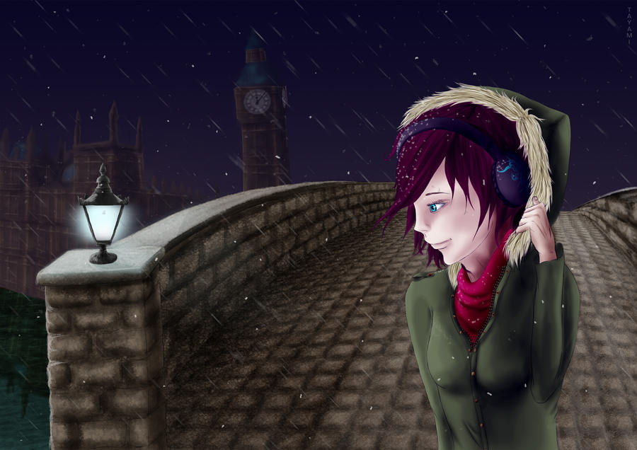 .:London Snow:. by TAyami