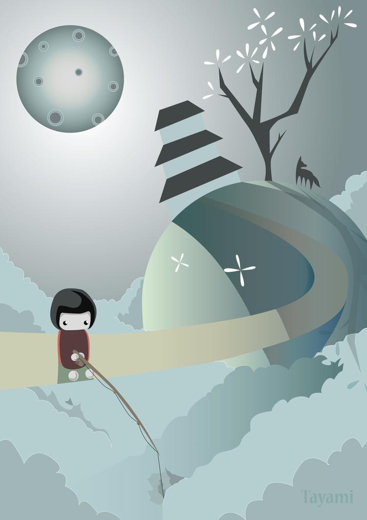 Midnight Fishing by TAyami