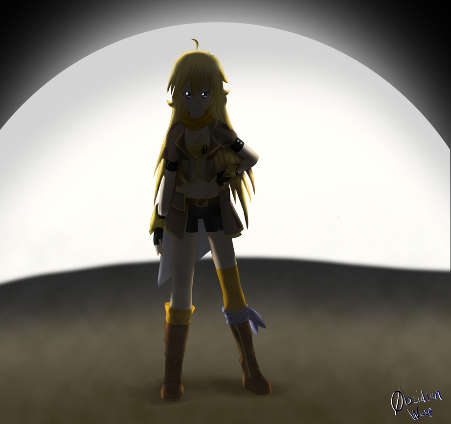 Yang Xiao Long Wallpaper: Yang Xiao Long By ObsidianWasp On DeviantArt